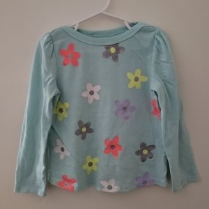 Kids Circo Long Sleeved Flower Top
